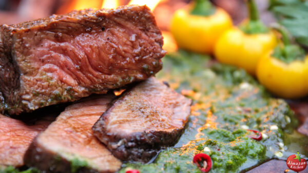 The Ultimate Steak - Stone-Fried in the Forest