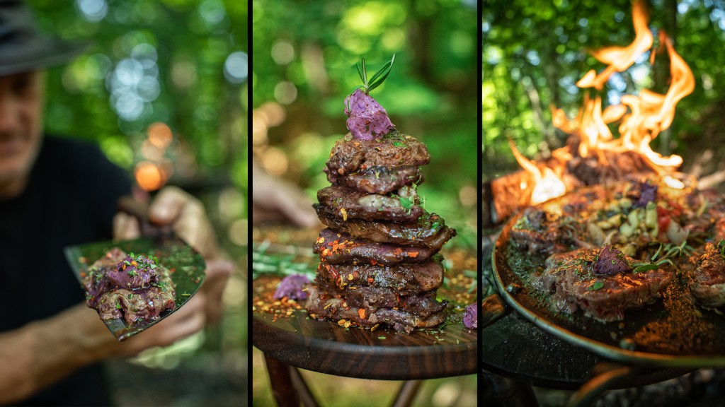 Violet Butter Steak Recipe - New Forest Cooking